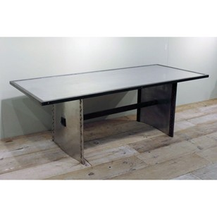 Aluminium and Steel Table