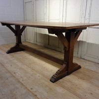 Late 19thC English Arts & Crafts Oak Table