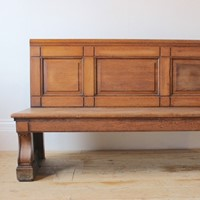 19th Century Country House Bench
