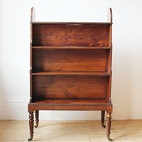 19th Century Waterfall Bookcase