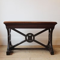 19th Century X Frame Table