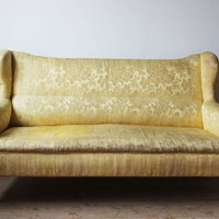 Edwardian Wingback Sofa
