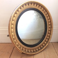 19th Century Convex Mirror
