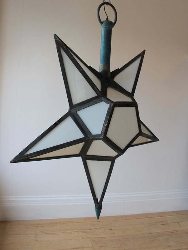 20th Century Star Lantern-dean-antiques-img-6050-main-637075298673826724.JPG