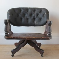 19th Century Desk Chair