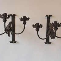 20th Century Gothic Wall Lights