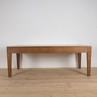 Early 20th Century Limed Oak Table