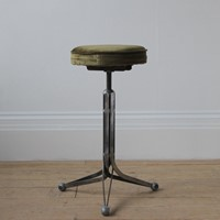 20th Century Industrial Stool