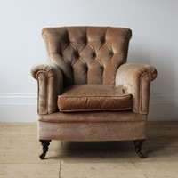 19th Century Howard Style Woodstock Chair