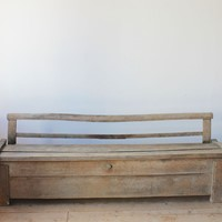 Long Coffer Bench