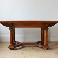 19th Century Arts and Crafts Table