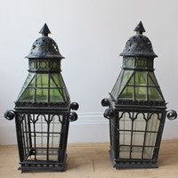 Pair of Gothic Lanterns
