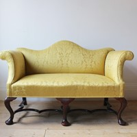 20th Century Queen Anne Style Sofa