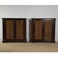 Pair of Country House Cabinets