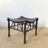 20th Century Thebes Stool