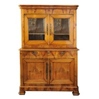 French Cherrywood Buffet Du Corps Cupboard