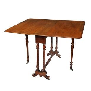 Mid 19th Century Mahogany Sunderland Table