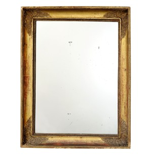 French Empire Napoleonic Period Gilt Mirror