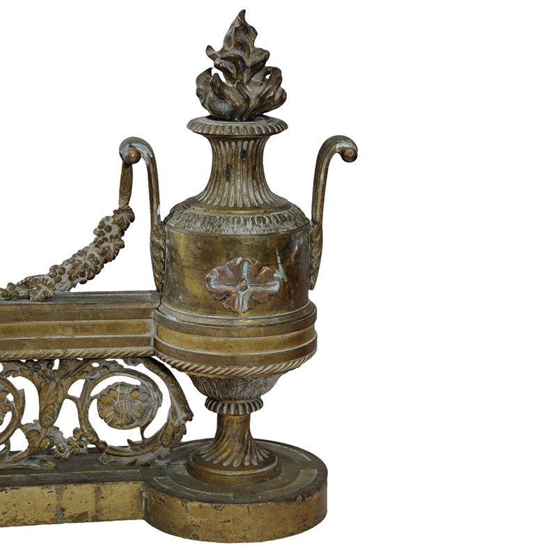 Fine pair of French Louis XVI Gilt Brass Fire Dogs-decorator-source-980polk-main-637185906044207141.jpg
