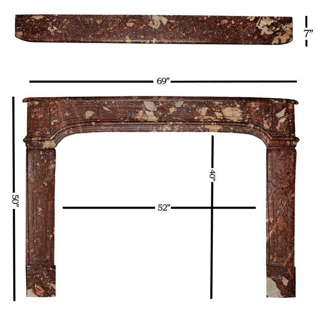 French Louis XIV Rouge Marble Fireplace -decorator-source-FIREPLACE DIMENSIONS_main_636338078931355945.jpg