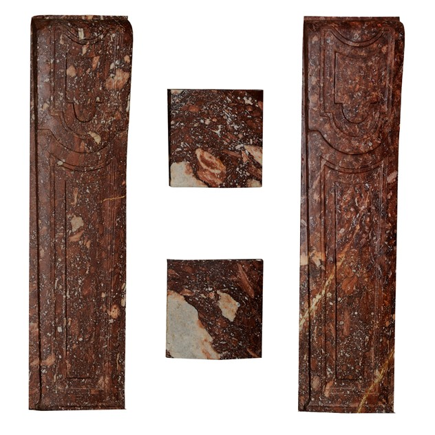 French Louis XIV Rouge Marble Fireplace -decorator-source-FIREPLACE JAMBS_main_636338079103900230.jpg