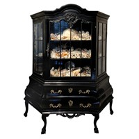 Dutch 18th Century Style Ebonised Cabinet