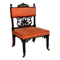 Early 19th Century Gallery Chair