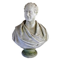 Marble Bust of Architect Thomas Hopper
