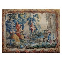 Large French 18th Century Beauvais Tapestry
