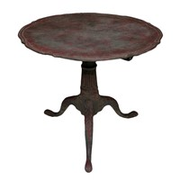 Early George III Painted Tilt-Top Tripod Table