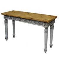 Italian Louis XVI Style Painted Console Table
