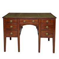 English George III Mahogany Writing Table
