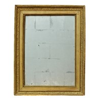 Small French Empire Period Giltwood Mirror