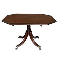 Small English Regency Mahogany Breakfast Table