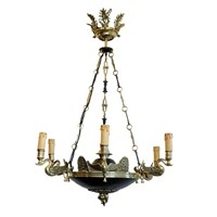 French 2nd Empire Napoleonic Style Chandelier