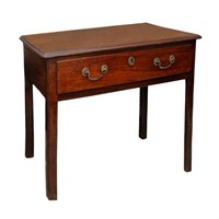 English George III Mahogany Side Table