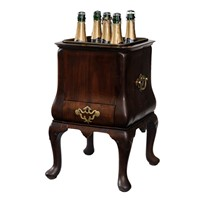 Dutch Cabriole Leg Wine Cooler
