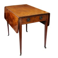 English George III Mahogany Pembroke Table