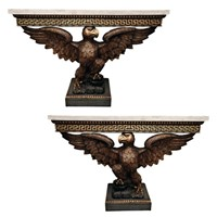 Contemporary William Kent Style Console Tables