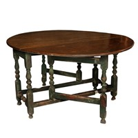 English George I Period Oak Gateleg Table