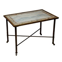 French Maison Jansen Brass Coffee/Low Table
