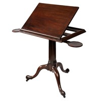 George II Mahogany Reading/Architects Table
