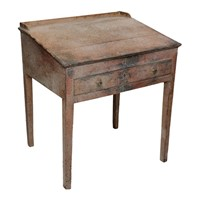 George III Period Childs Painted Writing Desk