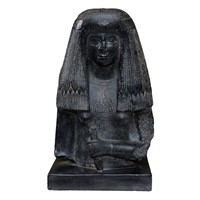 Large French Museum Copy of an Egyptian Bust