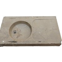 20th century limestone sink