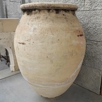 Large Spanish Terracotta Olive Jar