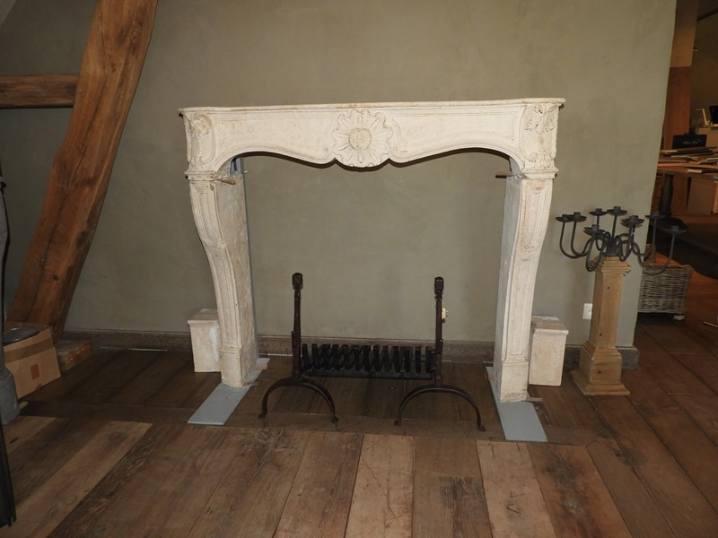 18th century limestone Louis XV fireplace -deknock-dscn5332-main-636917045886335472.JPG
