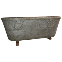 Antique Carrara Marble Bathtub