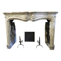 Beautiful 18th Century Sandstone Fireplace