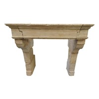 Antique Louis 13 Fireplace Mantle